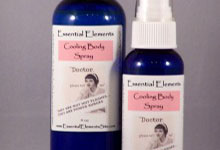 cooling body mist